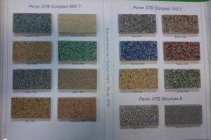 Epoviimistlus OÜ Epoviimistlus, Põrandavärvide näidised