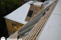 TRENDMASTER OÜ Katusetööd, Uue korruse puitkonstruktsioonide ehitus, valtskatus, valtsplekk-katus