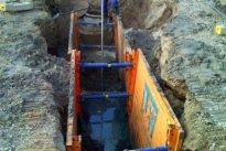 Kraavihall OÜ Kanalisatsioonitööd, Kanalisatsiooni ehitus