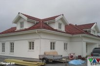 Household OÜ Fassaaditööd, fassaad, puitfassaad, maja ehitus