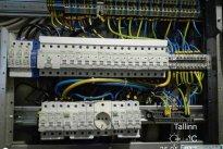 Elekter Sinu Kodus OÜ Elektritööd, elektrikilbi vaade seest, elektrikilpide koostamine, sertifitseeritud elektrikilbid