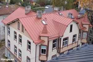 Toode AS Toode, Valtskatus, valtsplekk-katused, katuseprofiilid. Valtskatuse ehitus