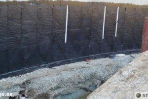 Stradacon OÜ Stradacon, vundamendi hüdroisolatsioon, vundamendi hüdroisoleerimine, vundamentide hüdroisolatsioon