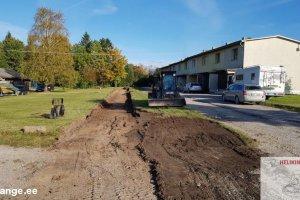HELIKINDLUS OÜ HELIKINDLUS, pinnasetööd, pinnasetööde teostamine, pinnase ettevalmistus