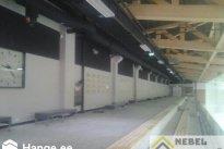 NEBEL EHITUS OÜ Viimistlustööd, Tondiraba jäähall seina ja vent torude viimistlus, ventilatsioonitorude viimistlus