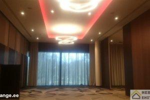 NEBEL EHITUS OÜ NEBEL EHITUS, Hilton konverentsiruumi laeviimistlus, lagede viimistlus, viimistlustööd