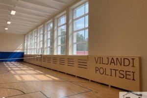 AMARK EHITUS OÜ AMARK EHITUS, spordisaali renoveerimine, põranda vahetus, maalritööd