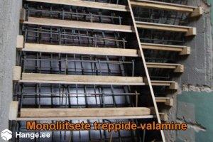 KONVENTO OÜ KONVENTO, Monoliitsete treppide rajamine, trepiehitus
