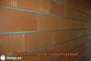 KONVENTO OÜ KONVENTO, Porotherm ploki ladumistööd, müüritöödmüürid, müüride ladumine