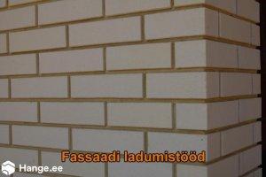KONVENTO OÜ KONVENTO, Fassaadi ladumistööd, müüritööd, kividest fassaad