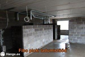 KONVENTO OÜ KONVENTO, Fibo ploki ladumistööd, müüritööd