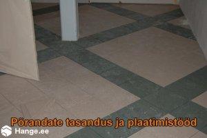 KONVENTO OÜ KONVENTO, Põrandate tasandus ja plaatimistööd, plaatimine