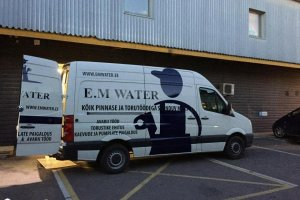 E.M WATER OÜ E.M WATER, trassitööd, kaevetööd, pinnasetööd