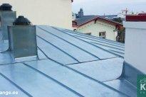 K&J EHITUS OÜ Katusetööd, plekk-katuse paigaldus, plekk-katuse ehitus, plekk-katused