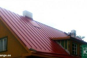 K&J EHITUS OÜ K&J EHITUS, plekk-katuse paigaldus, plekk-katuse ehitus, plekk-katused