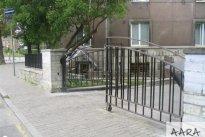 Aara Metall OÜ Aia ehitus, Metallist piirdeaed, metallist aed. Piirded, aia ehitus.