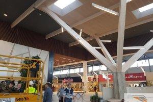 LAE EXPERT OÜ LAE EXPERT, laekonstruktsioonid, lae puitkonstruktsioonid, kaubanduskeskuste laetööd