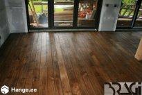 Bragi OÜ Põrandatööd, Põrandatöö. Tamm, toonitud õlivaha