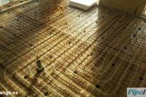 Pipeit OÜ Põrandaküte paigaldus, põrandaküte, paigaldus, põrandaküttetoru