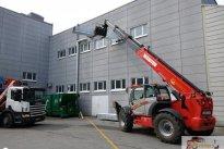 Kregori OÜ Ehitustehnika rent, Teleskooplaadur, teleskooplaaduri tõste- ja laadimisteenus
