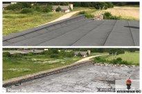 STENWAR OÜ Katusetööd, Lamekatus enne ja pärast, katusetöö