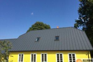 ALLIKMA EHITUS OÜ ALLIKMA EHITUS, plekkkatuse vahetus, katuse renoveerimine, talumaja renoveerimine