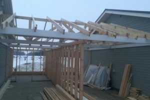 JASKOR OÜ JASKOR, Juurdeehitus, garaažiehitus, puitkonstruktsioonid