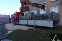 VilLIFT OÜ Veoteenused, ehitusmaterjalide vedu, tõstetööd ehitusel, veoteenus ehitusel