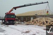 VilLIFT OÜ Tõstetööd, katusekonstruktsioonide paigaldus, ehituskonstruktsioonide transport, tõstetööd viljandis