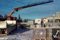 VilLIFT OÜ Tõstetööd, tõstetööd ehitusobjektil, tõstetööd ehitusel, tõstetööd viljandis