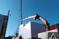 VilLIFT OÜ Tõstetööd, tõstetööd vintsiga, fassaadimaterjalide paigaldus, tõstetööd ehitusel