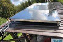 Felsen OÜ Küttesüsteemid, Päikesepaneelide paigaldus koos kolmesüsteemse boileri paigaldusega olemasolevasse katlaruumi