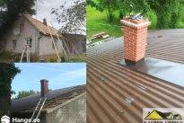 KASPER EHITUS OÜ Katusetööd, Plekkkatus, katuse paigaldamine, katuste paigaldamine