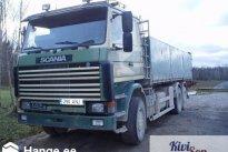 KIVISON TRANS OÜ Transporditeenused, Kallur: Scania 142 6x2