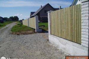 Peruks Grupp OÜ Peruks Grupp, Aed ja värav Lagedil, aia ehitus, aia ehitamine