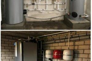 Maaküte OÜ Maaküte, Samsung õhk-vesi soojuspump, Alpha Innotec maasoojuspump, boileriga soojuspump