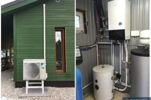 Maaküte OÜ Maaküte, Daikin, soojuspump, õhk-vesi soojuspump