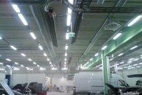 Baltimir Group OÜ Küttesüsteemid, gaasikütte gaasikiirguri paigaldus, laohoone küttesüsteem