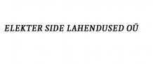 ELEKTER SIDE LAHENDUSED OÜ logo