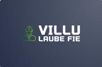 VILLU LAUBE FIE logo