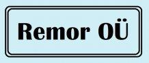 Remor OÜ logo